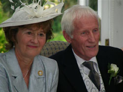 Pauline North and Peter Hopkins, Oct 2008